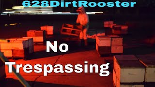 Impounding Bees For County Officials - No Trespassing