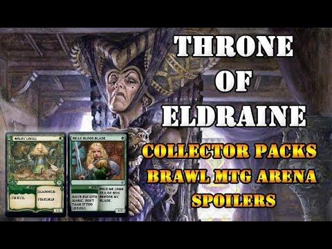 Throne of Eldraine Spoilers + MTG Arena News