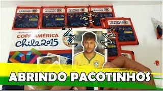 Vídeo 38 - Pacotinhos, álbum COPA AMÉRICA 2015 - MY PANINI ALBUM Copa América 2015
