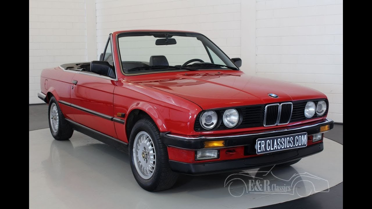 bmw 320i e30 cabriolet 1988 video youtube. Black Bedroom Furniture Sets. Home Design Ideas