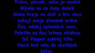 EGO ft. Robert Burian - Žijeme len raz (text).wmv