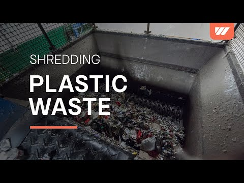 Plastic Waste Recycling with WEIMA WLK 25 SJ Shredder
