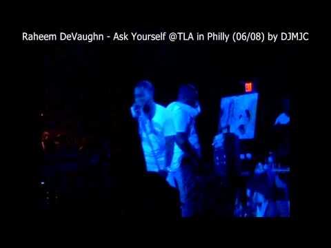 Raheem DeVaughn - Ask Yourself (live) by DJMJC