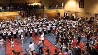 "Grambling St.""World Famed "" Alma Mater Pep Rally 2015"""