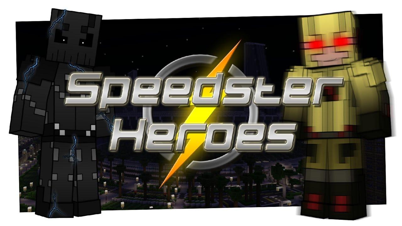 Speedster Heroes Mod for Minecraft 1 12 2/1 10 2 | MinecraftSix