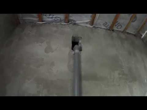 фановая труба (вентиляция септика) выводим через вентканал помещения