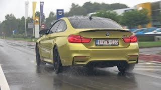 BMW M Cars Accelerating in the Rain! M2, M3, M4, M5, E30 M3 Evo & More!