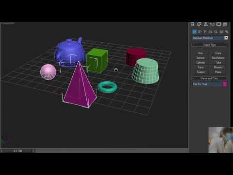 Bài 2 : Căn Bản 3Ds max