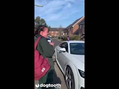 Whole Street Applauds Ambulance Worker During Coronavirus Crisis || Dogtooth Media