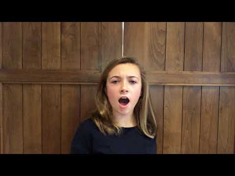 Meet Sacramento Contestant Ryann Barnes! This is Ryann's Celebration of Music 2017 Audition.