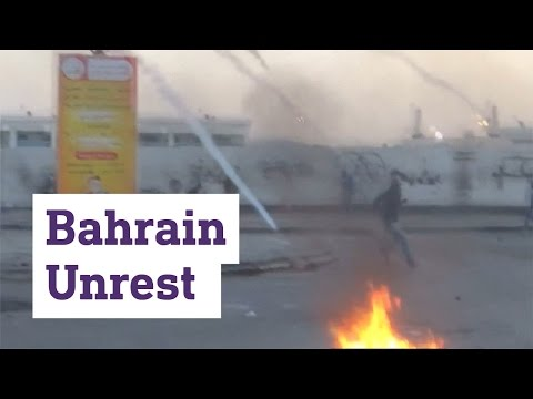 Mourning, protests and clashes in Bahrain as the country reacts to the execution of 3 men