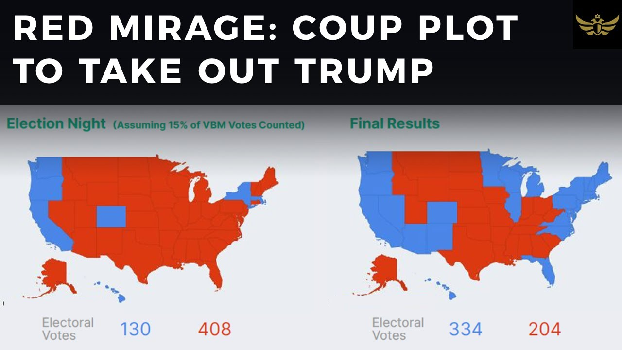 RED MIRAGE: Coup plot to take out Trump & take over America (Live)