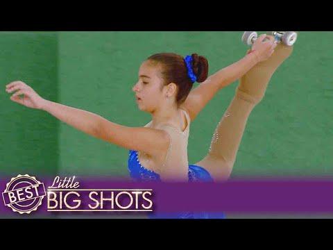 Miranda's Skating Is Amazing! | Colombia Little Big Shots