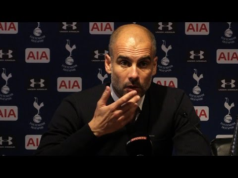 Tottenham 2-0 Manchester City - Pep Guardiola Full Post Match Press Conference