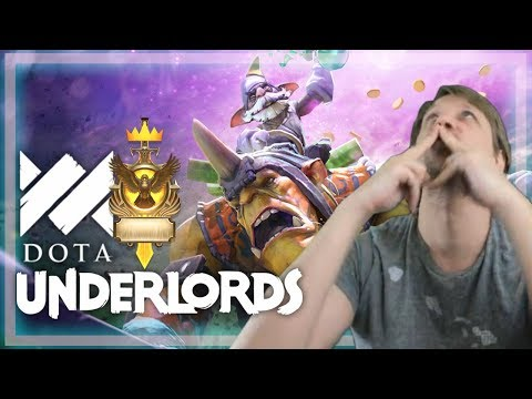 6 Warlocks is Good?? - Savjz Dota Underlords