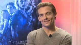 Kevin Zegers - The Mortal Instruments: City of Bones Interview