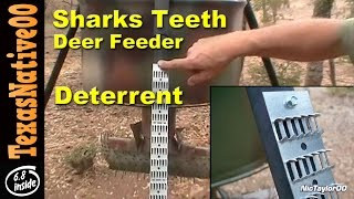 Sharks Teeth Deer Feeder Deterrent For Varmits - Review