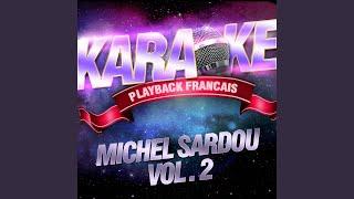 Les Villes De Solitude — Karaoké Avec Chant Témoin — Rendu Célèbre Par Michel Sardou