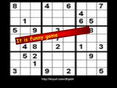 Play free sudoku unlimited - YouTube