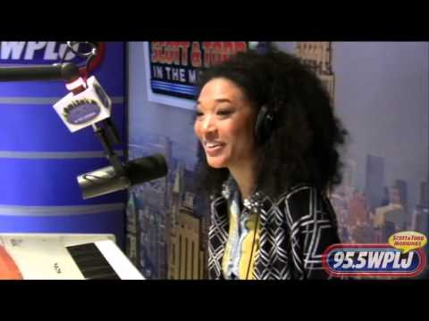 Judith Hill talks about the voice,  Michael and 20 feet from stardom