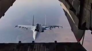 Сброс гуманитарного груза в Сирии. ВКС России