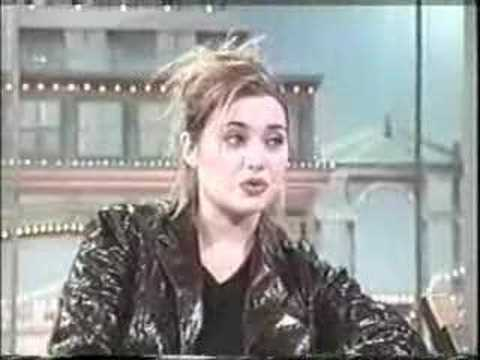Kate Winslet on Rose O'Donnell prmoting the movie Titanic