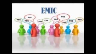 VIDEO ETIC   EMIC