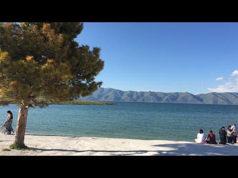 Армения - Озеро Севан.