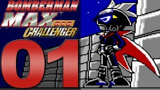 Bomberman Max Red Challenger [Part 1] The Armored Max Bomber!