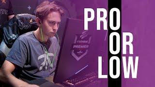 Draken Plays Pro Or Low?