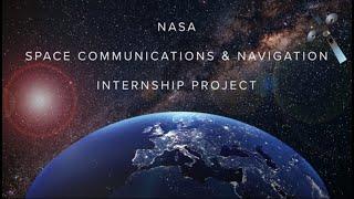 SCaN Internship Project (SIP)