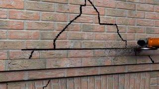 видео Ремонт и заделка трещин в бетоне и кирпичной кладке