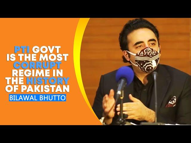 Bilawal Calls PTI Govt Most Corrupt Regime In Pakistan's History