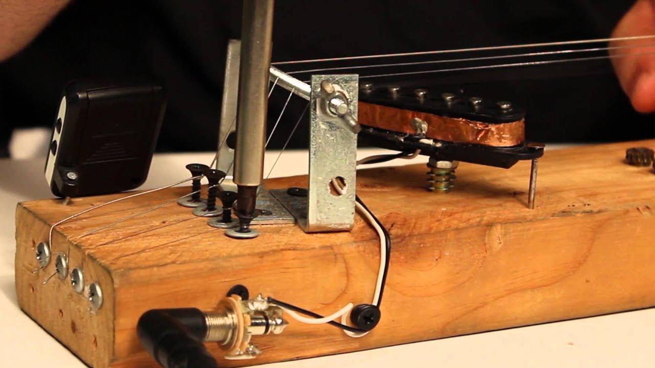diy electric slide guitar youtube. Black Bedroom Furniture Sets. Home Design Ideas