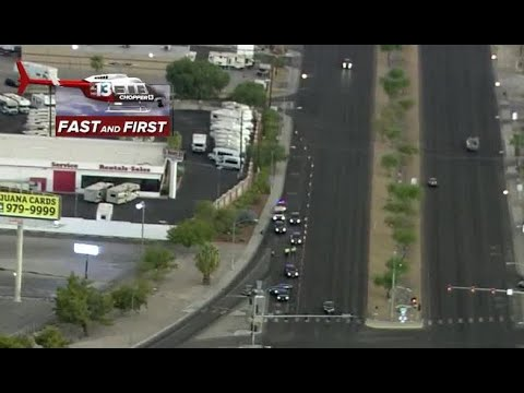 Fatal crash on Boulder Highway, US-95