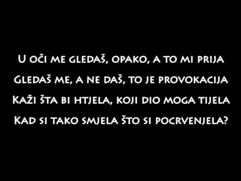 Sara Jovanovic - Provokacija (Tekst/Lyrics)