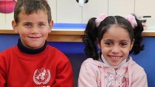 Palestinian Kids Describe their Preschool's Renovation!