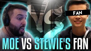 m0E VS STEWIE2K FAN! CS:GO