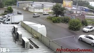 Аварии на видеорегистратор 2015 (86) / Сar crash compilation 2015 (86)