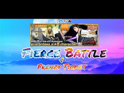 Открываем Frenzy Ticket во всеми персонажами + отзыв о Fierce Battle | BBS | [L]eoN