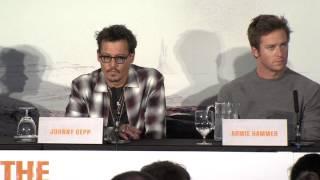 The Lone Ranger UK Press Conference Part 1 - Johnny Depp, Armie Hammer, Gore Verbinski (2013)
