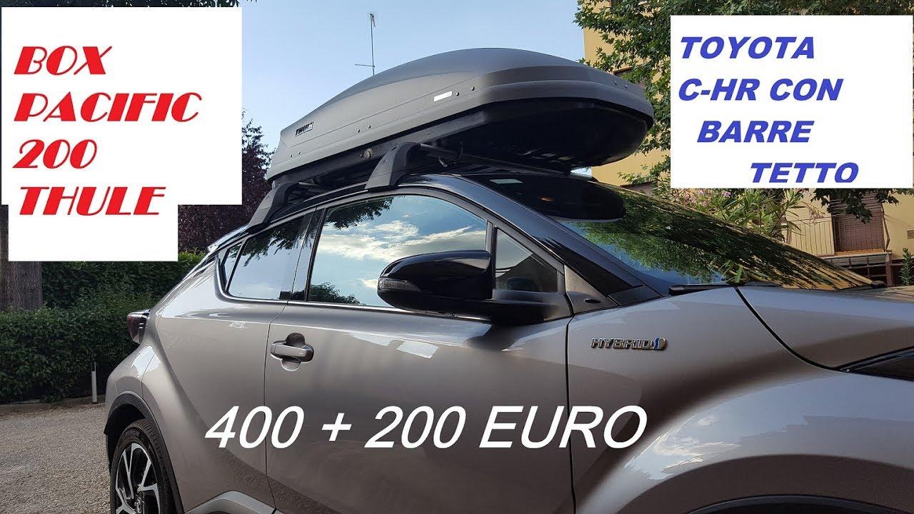 Box Thule Toyota C Hr Come Montarlo E Quanto Costa