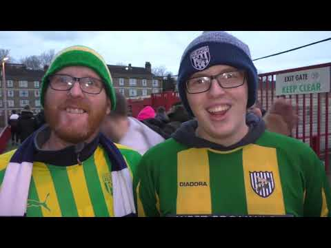 'Bring on Wolves in the next round! West Brom fans want FA Cup derby