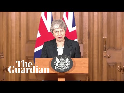 Brexit: Theresa May makes statement outside 10 Downing Street - watch live