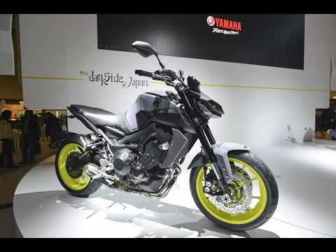yamaha mt 09 2017 en el sal n intermot de colonia youtube. Black Bedroom Furniture Sets. Home Design Ideas