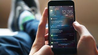 iOS 11 - Dark Mode