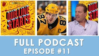 Analyzing the Taylor Hall blockbuster, Best forwards of decade | Our Line Starts Ep. 11 | NBC Sports