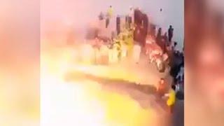 Soccer stadium attack kills 25