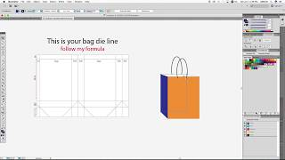 How to Make a Shopping Bag | Dieline | Using Adobe Illustrator