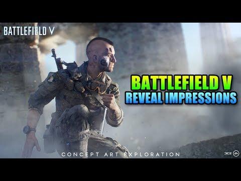 Battlefield V Reveal Trailer & First Impressions